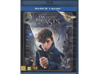 Fantastic Beasts and Where To Find Them 3D Harry Potter