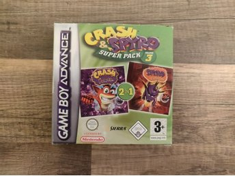 Crash & Spyro Superpack 3 GBA Komplett