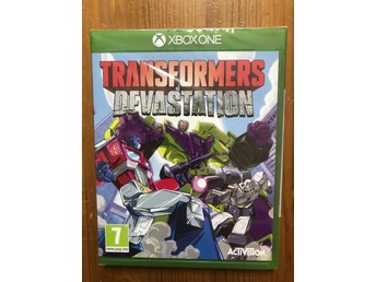 [XBOX ONE] TRANSFORMERS : DEVASTATION / NYTT & INPLASTAT