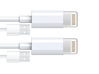 2 meter - 2st - iPhone sladdar / kabel