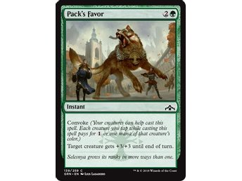 Pack's Favor - Magic The Gathering
