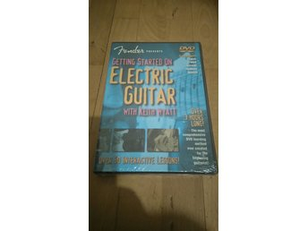 NY dvd Fender presents getting started on Electric guitar Keith wyatt (elgitarr)