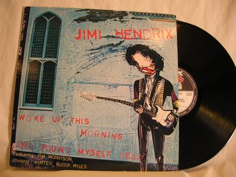 Jimi Hendrix   -   Woke up this morning, and found myself dead       Lp