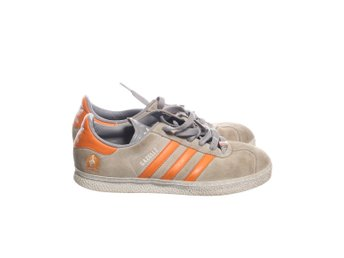 Adidas, Sneakers, Strl: 38, Gazelle, Grå/Orange