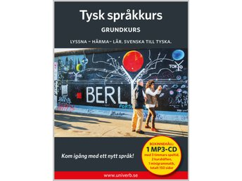 Tysk grundkurs på MP3-CD