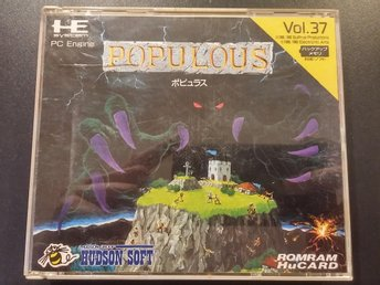Populous till PC-Engine HU-Card