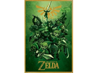 The Legend of Zelda Poster Link 61 x 91 cm