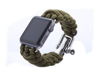 Weave Apple Watch band  38mm grön