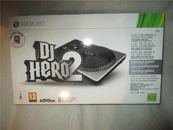 DJ Hero 2 Turntable Bundle till XBOX 360 - Matfors - DJ Hero 2 Turntable Bundle till XBOX 360 - Matfors