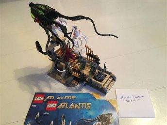 Lego Atlantis 8061 - Gateway of the Squid - Saltsjöbaden - Lego Atlantis 8061 - Gateway of the Squid - Saltsjöbaden