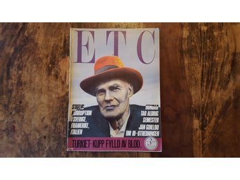 ETC / Nr 3  - 1981  / Kultur / Politik / Turkiet / Jan Guillou