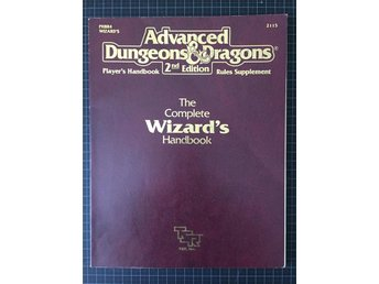 AD&D: The complete Wizards handbook PHBR4 2115 (gradering: Very Fine