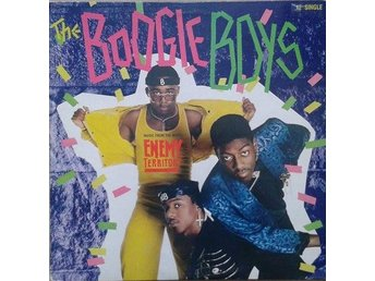 The Boogie Boys title* Dealin' With Life (Remix)* 80's Hip-Hop 12""
