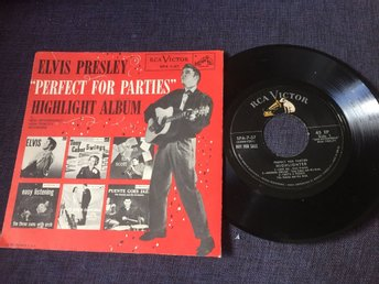 Elvis Presley Ep. Perfect for parties.