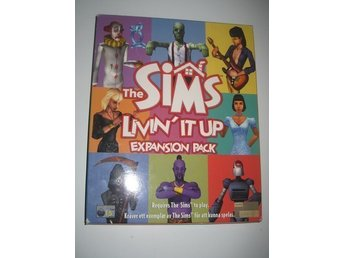 The Sims Livin'it Up Expansion Pack Pc Big box