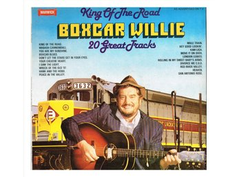BOXCAR WILLIE - King Of The Road - 20 Great Tracks - LP (1980)