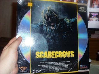 Scarecrows 1988 Laserdisc horror gore william wesley ted vernon splatter fin