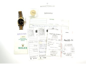 KLOCKA, Rolex, Oyster Perpetual Datejust, Superlative Chronometer Officially Cer