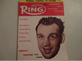 Boxning The Ring magazine Juli 1961