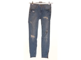 Perfect Jeans Gina Tricot, Jeans, Strl: 25, Blå