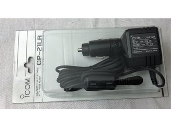 ICOM Cigarette Lighter Cable with noise filter