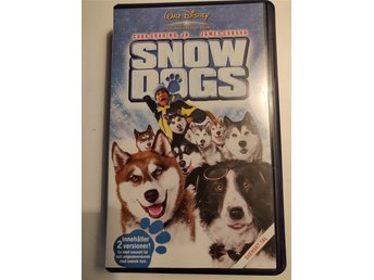 Snow Dogs VHS Film.