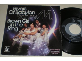 Boney M 45/PS Rivers of Babylon 1978 VG++