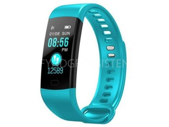Smart Watch Sports Fitness Activity Tracker Blue Fri Frakt Ny