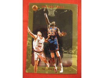 PATRICK EWING - SP AUTHENTIC 1997-98 - NEW YORK KNICKS - BASKET