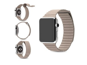Magnet loopback strap apple watch khaki 42mm