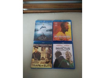 The Cove, Only God Forgives, Tropa De Elite, Invictus på Blu-Ray