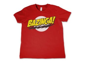 Big Bang Theory T-shirt Bazinga Barn 4 år