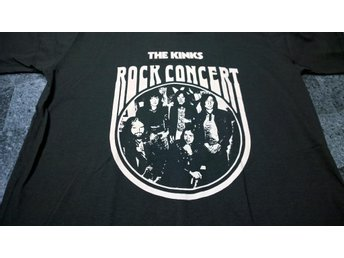 T-Shirt. Svart. Rock. The Kinks. Medium - Solna - T-Shirt. Svart. Rock. The Kinks. Medium - Solna