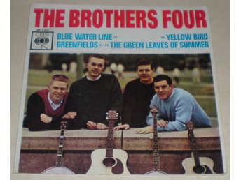 Brothers Four OMSLAG EP Blue water line