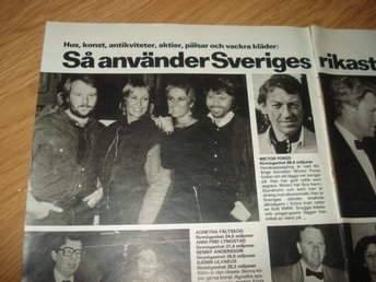 ABBA m flera - Stor Artikel - Gävle - ABBA m flera - Stor Artikel - Gävle