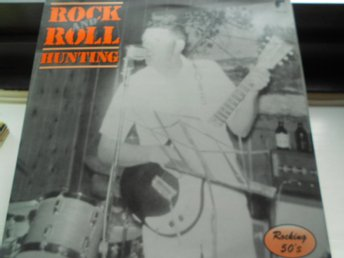 RECORD-SALE SOMMAR-REA! LP ROCKING 50s ROCK AND ROLL HUNTING