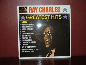 Ray Charles. LP Greates Htts