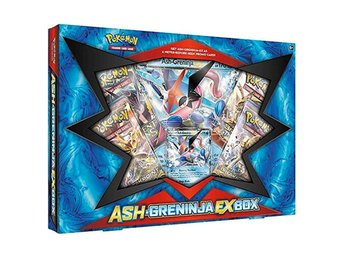 Pokemon Greninja-EX Box