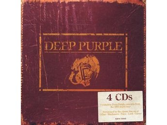 Deep Purple: Live in Europe 1993 (4 CD)