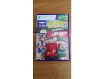 XBOX 360 spel - Alvin and the chipmunks