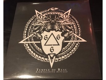 Temple Of Baal - Lightslaying Rituals (LP) - HELT NY - FORTFARANDE INPLASTAD -