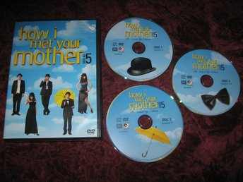 HOW I MET YOUR MOTHER SÄSONG 5 (JOSH RADNOR,JASON SEGEL) 3-DISC DVD