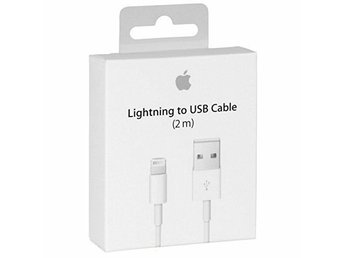 2 meter Lightning Kabel iPhone/iPad laddare - Snabb frakt