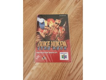Duke Nukem Zero hour Manual