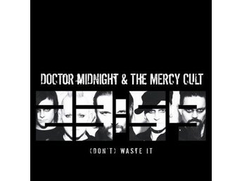 "Doctor Midnight & Mercy Cult-Waste It (sticker, downl. card) 7"" NY - FRI FRAKT"