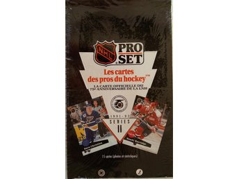 1991/1992 Pro Set Series 2 French Canadian Edition Hockey Box - Rönninge - 1991/1992 Pro Set Series 2 French Canadian Edition Hockey Box - Rönninge