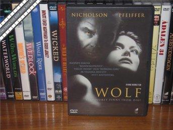 WOLF - Jack Nicholson, Michelle Pfeiffer *UTGÅNGEN DVD* - Svensk text - åmål - WOLF - Jack Nicholson, Michelle Pfeiffer *UTGÅNGEN DVD* - Svensk text - åmål