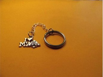 I love my dog nyckelring / I love my dog keyring