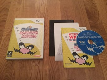 Wario Ware Smooth Moves Wii SWD/Bergsala - Komplett i fint skick