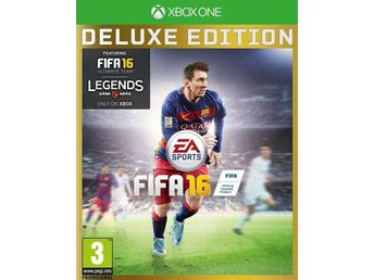 FIFA 16, DELUXE EDITION--XBOX ONE--NYSKICK